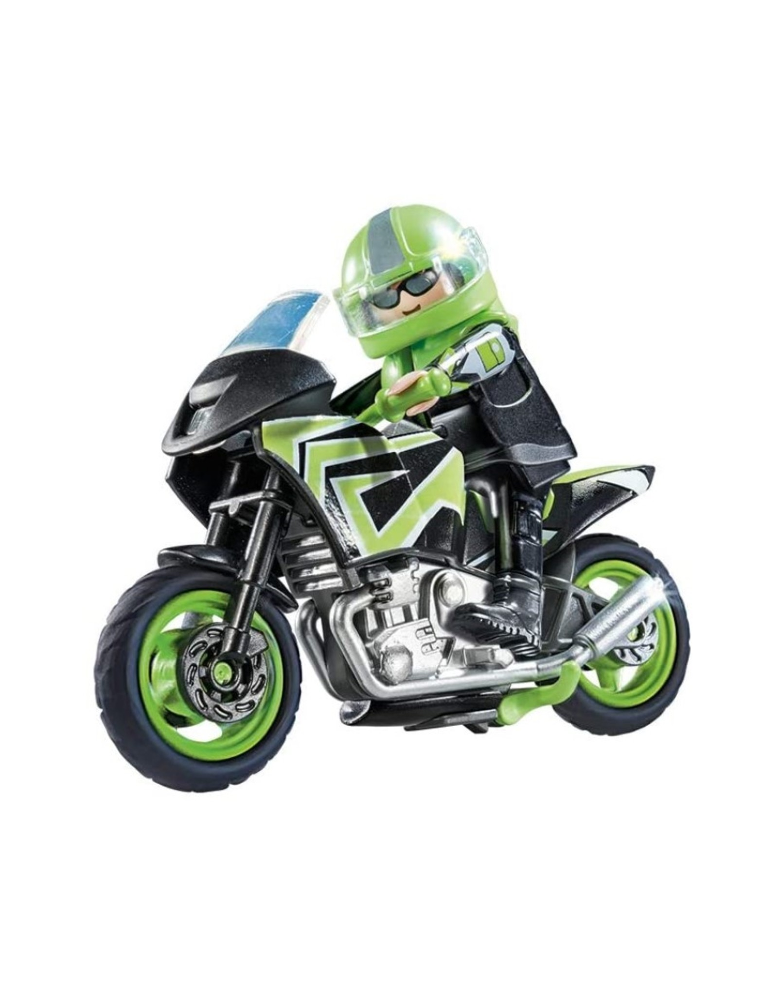 Playmobil PM - Motorcycle with Rider