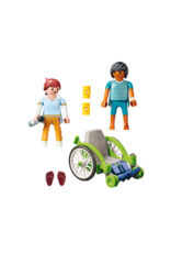 Playmobil PM - Patient in Wheelchair