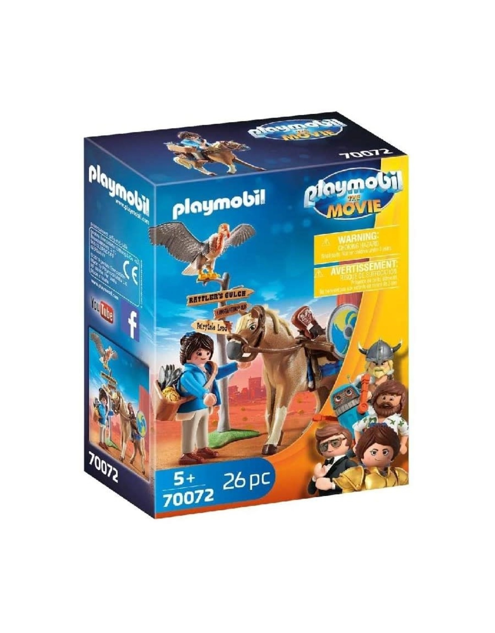 Playmobil PM - The Movie Marla with Horse