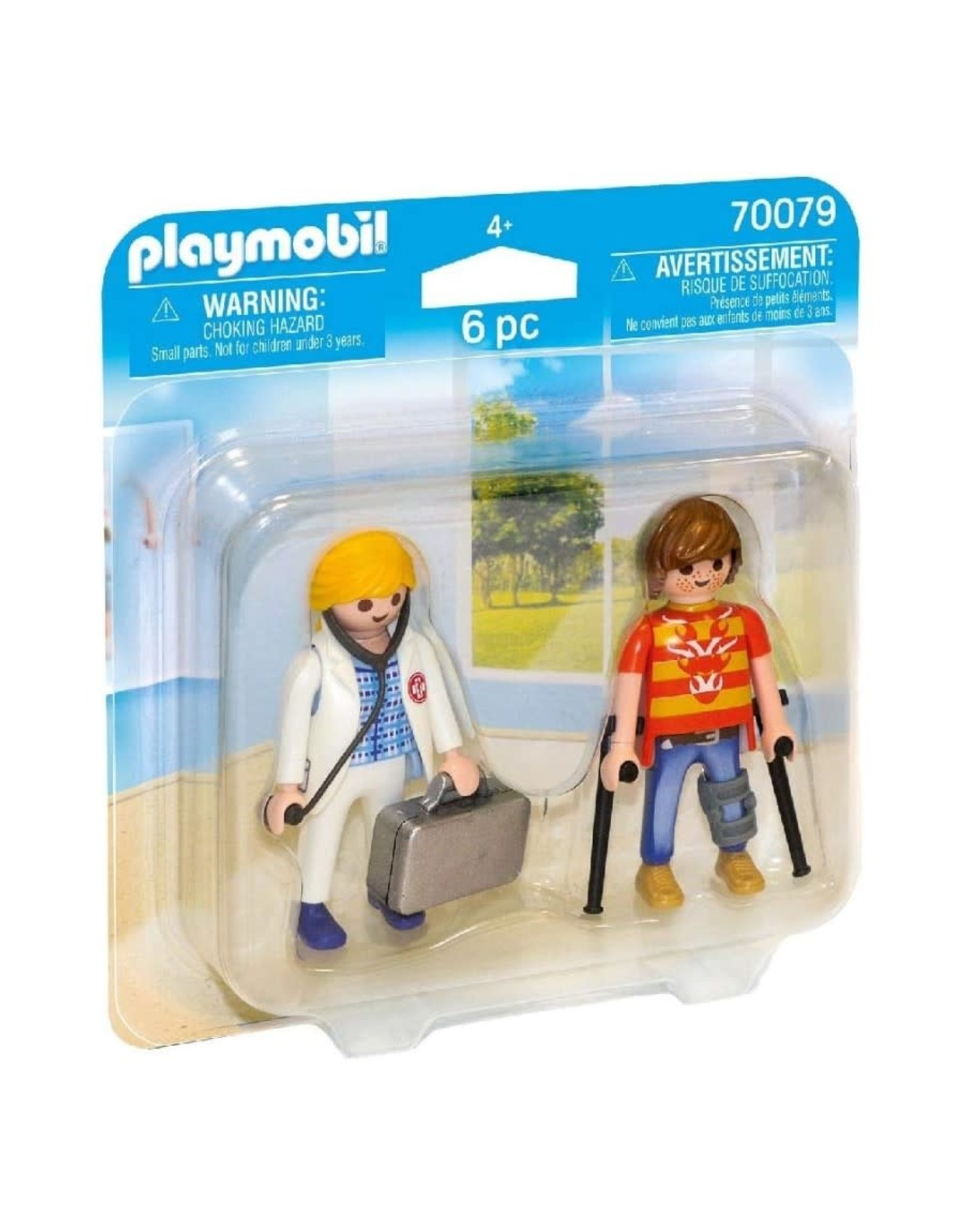 Playmobil PM - Doctor and Patient