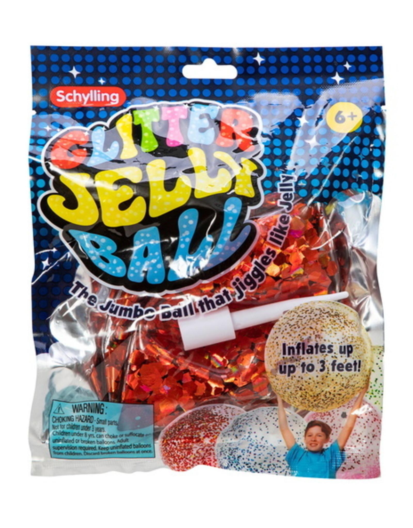 Schylling Jumbo Glitter Jelly Ball