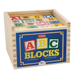 Schylling Alphabet Blocks 48pc