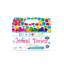 Do A Dot Art Do-A-Dot Markers 6pc - Mini Dots Jewel Tones