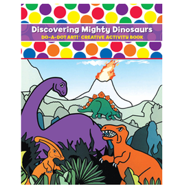 Do A Dot Art Do-A-Dot Book - Discovering Mighty Dinosaurs