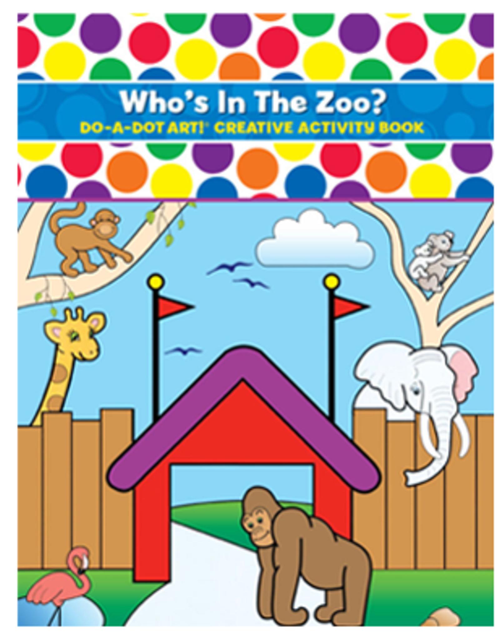 Do A Dot Art Do-A-Dot Book - Who's in the Zoo