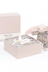 Jellycat Jellycat Bedtime Blossom Blush Bunny - Baby & Muslin Set