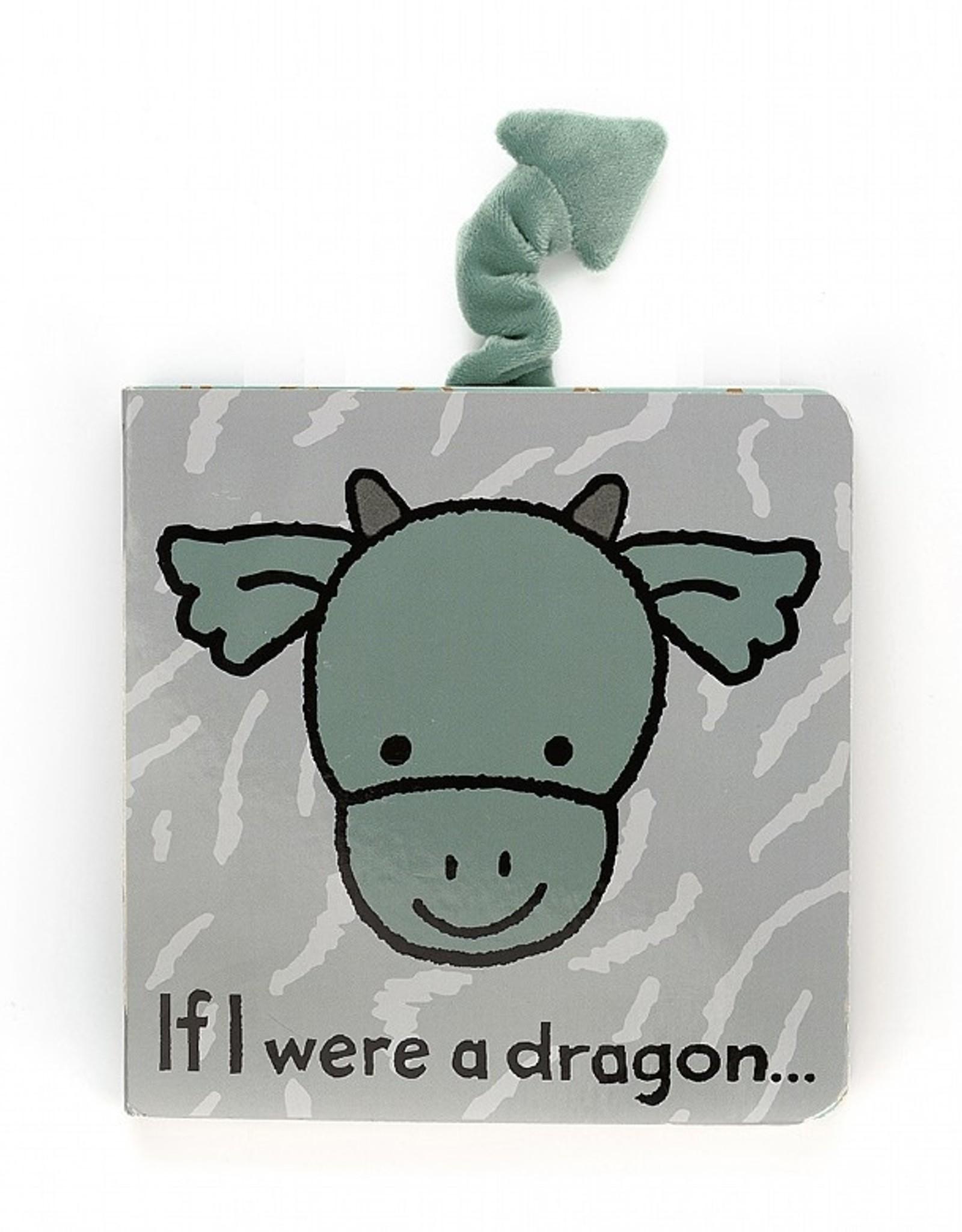 "Jellycat Jellycat ""If I were a Dragon"" Book"