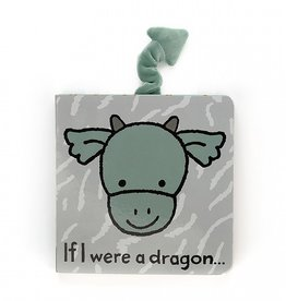 "Jellycat Jellycat ""If I were a Dragon"" Book"