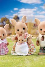 Calico Critters CC Hopper Kangaroo Family