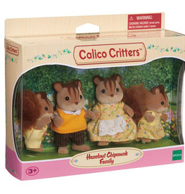 Calico Critters CC Hazelnut Chipmunk Family