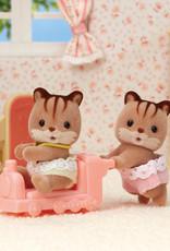 Calico Critters CC Hazelnut Chipmunk Twins
