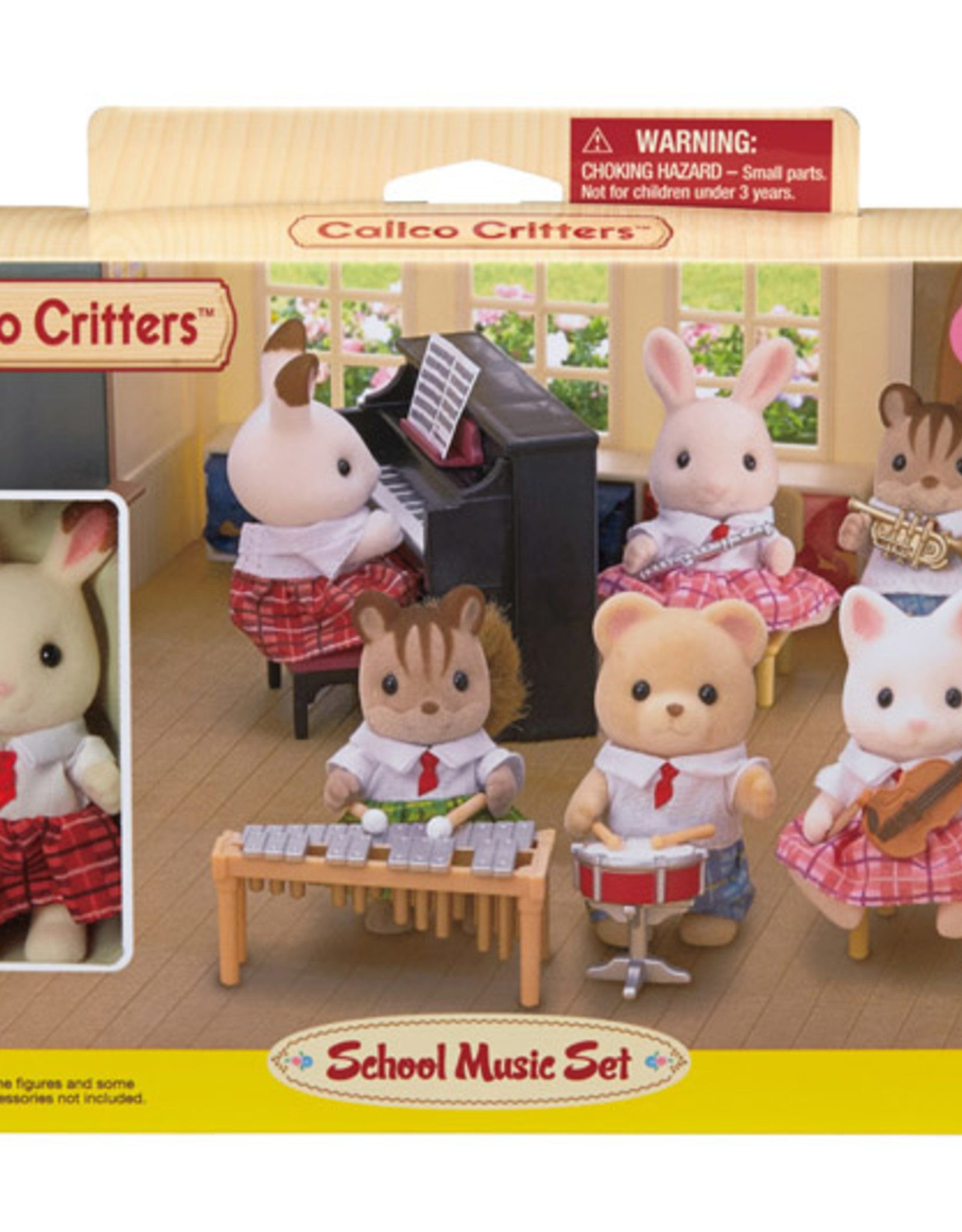 Calico Critters CC School Music Set
