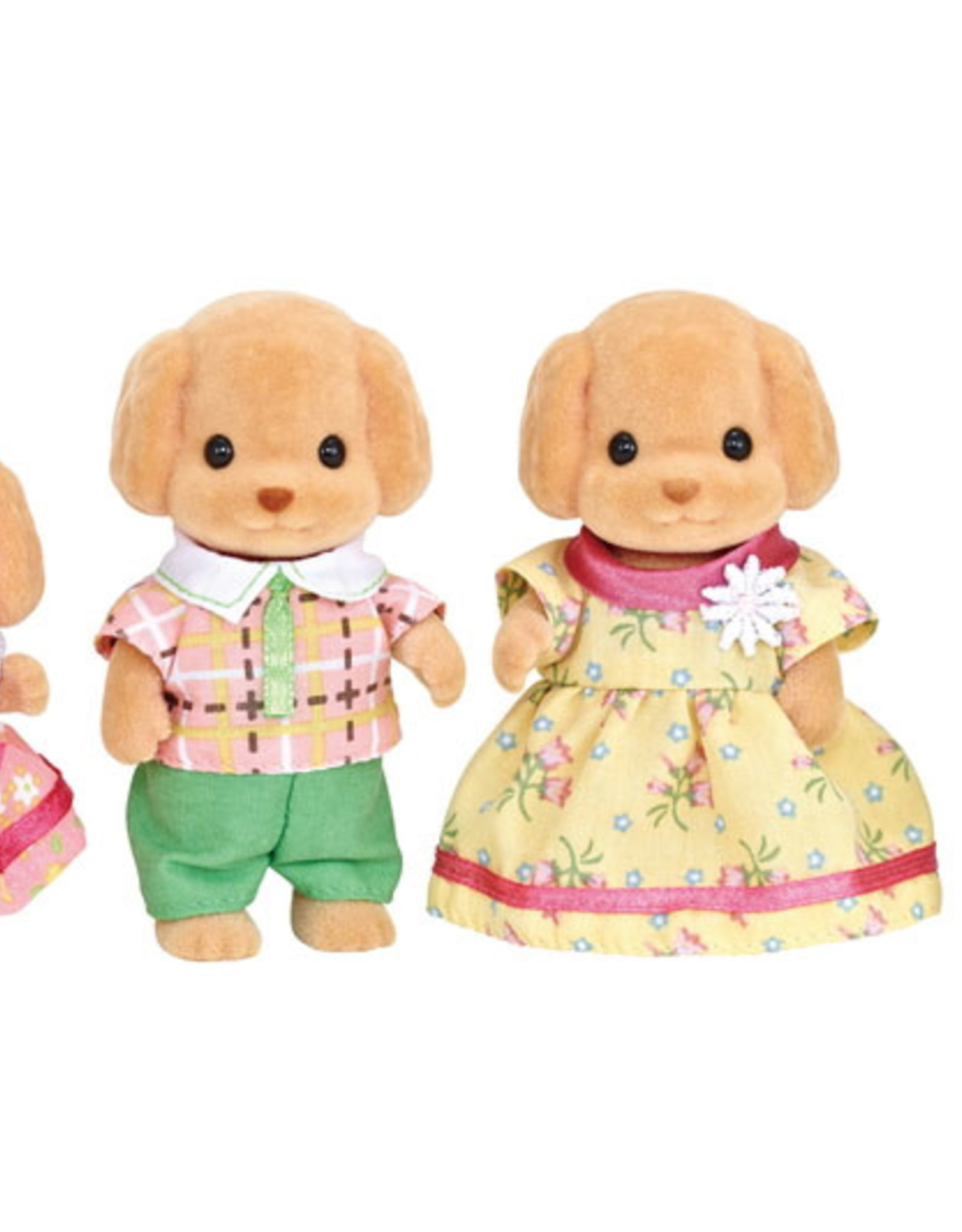 Calico Critters CC Toy Poodle Family