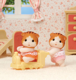 Calico Critters CC Maple Cat Twins
