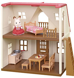Calico Critters CC Red Roof Cozy Cottage Starter Home