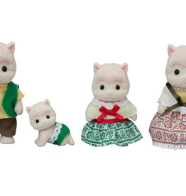 Calico Critters CC Woolly Alpaca Family