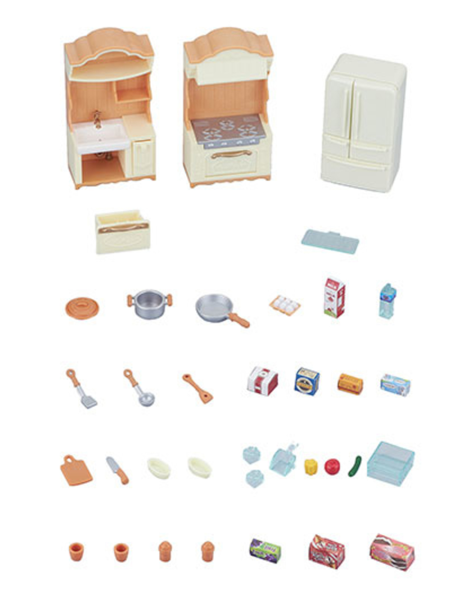 Calico Critters CC Kitchen Play Set