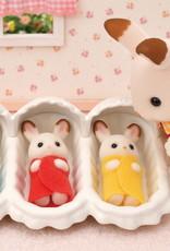 Calico Critters CC Triplets Care Set