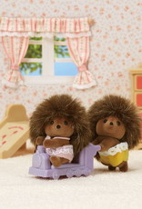 Calico Critters CC Pickleweeds Hedgehog Twins