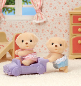 Calico Critters CC Yellow Labrador Twins