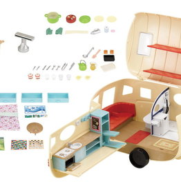 Calico Critters CC Caravan Family Camper
