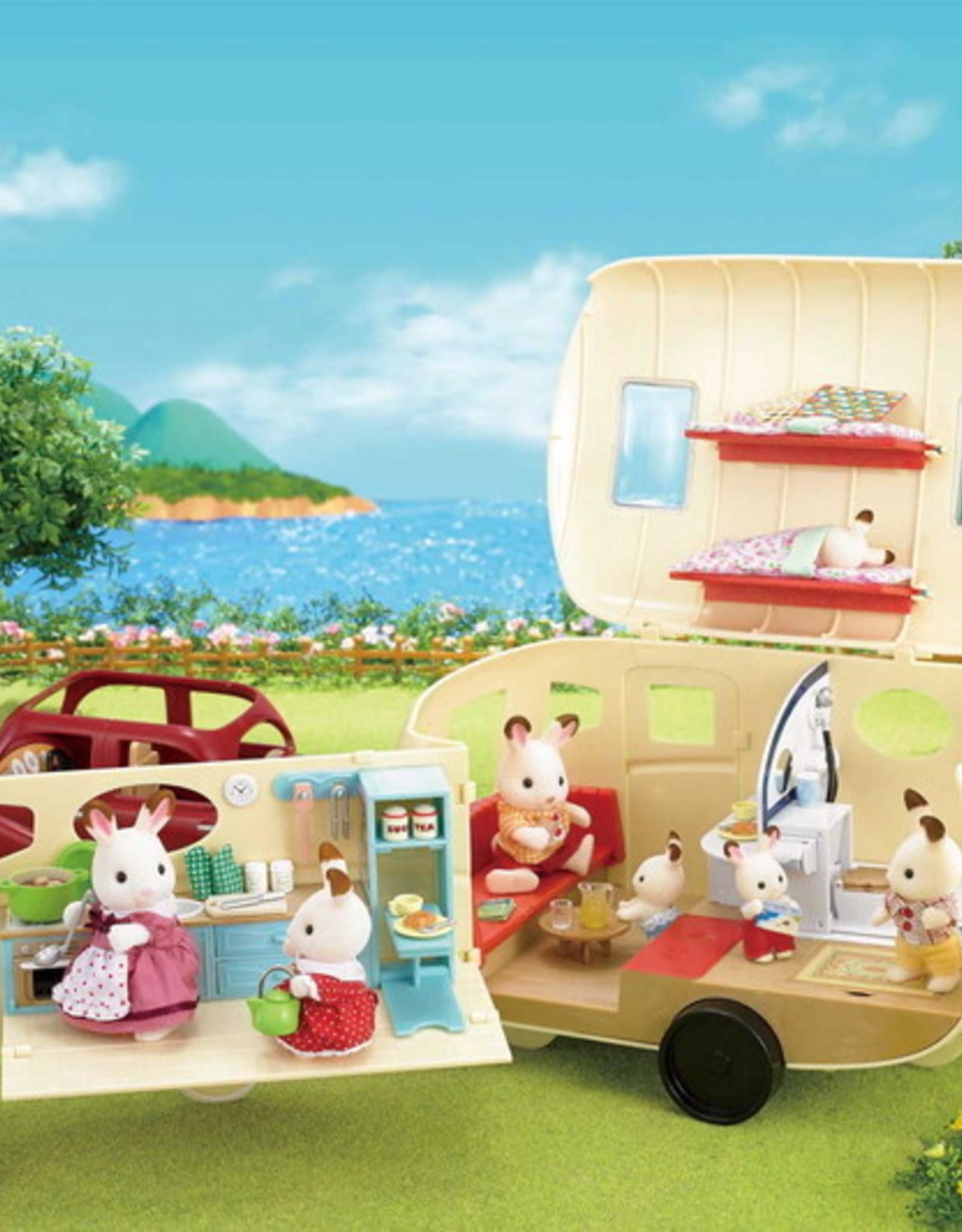 Calico Critters CC Caravan Family Camper