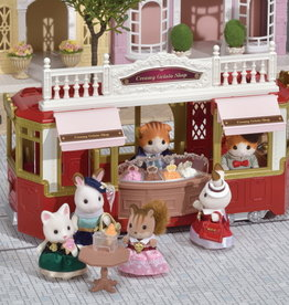 Calico Critters CC Ride Along Tram