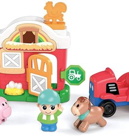 Kidoozie Lights 'n Sounds Farm Playset