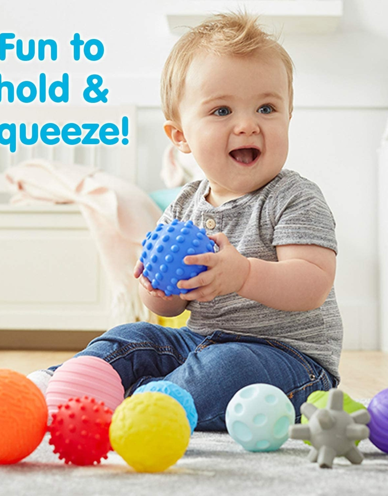 Kidoozie Touch 'n Roll Sensory Balls
