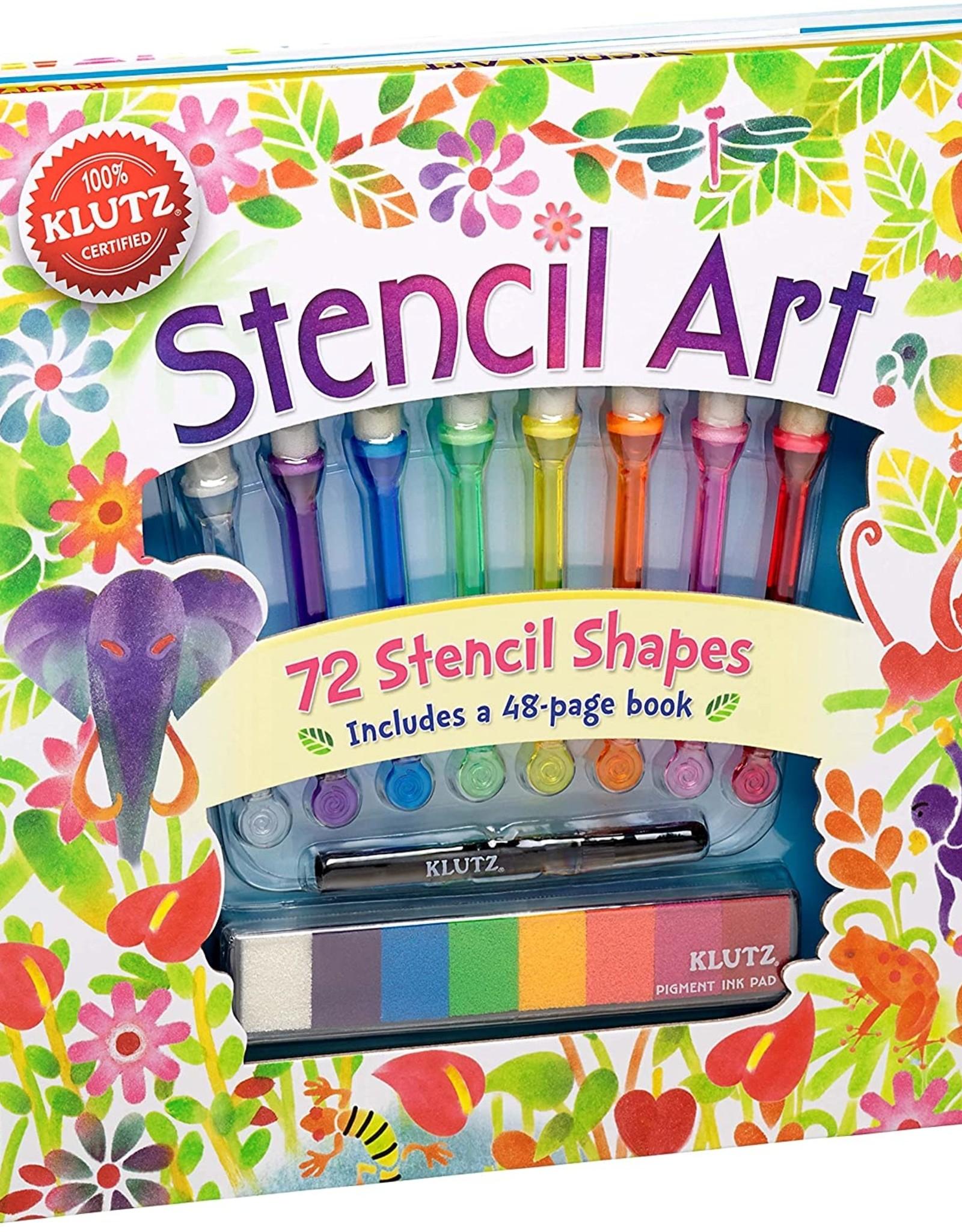 Klutz Stencil Art