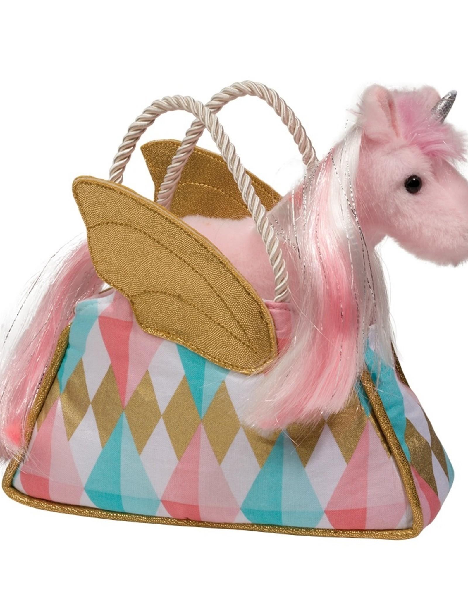 Douglas Douglas - Glitter Fancy Sak with Pink Unicorn