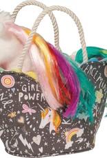 Douglas Douglas - Girl Power Sak with White Unicorn