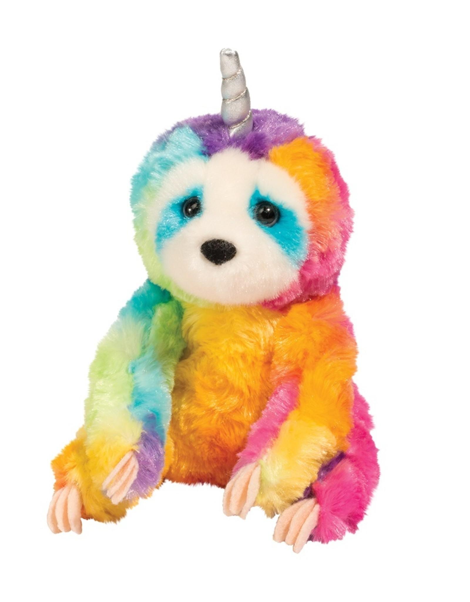 "Douglas - ""Linnea"" Rainbow Slothicorn"