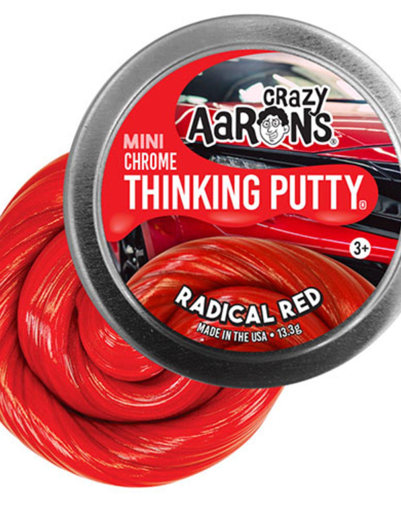 "Crazy Aaron's Puttyworld Crazy Aaron's Putty - Radical Red 2"" Tin"