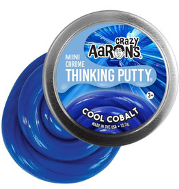 "Crazy Aaron's Puttyworld Crazy Aaron's Putty - Chrome Cool Cobalt 2"" Tin"
