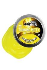 "Crazy Aaron's Puttyworld Crazy Aaron's Putty - Neon Lightning Rod 2"" Tin"