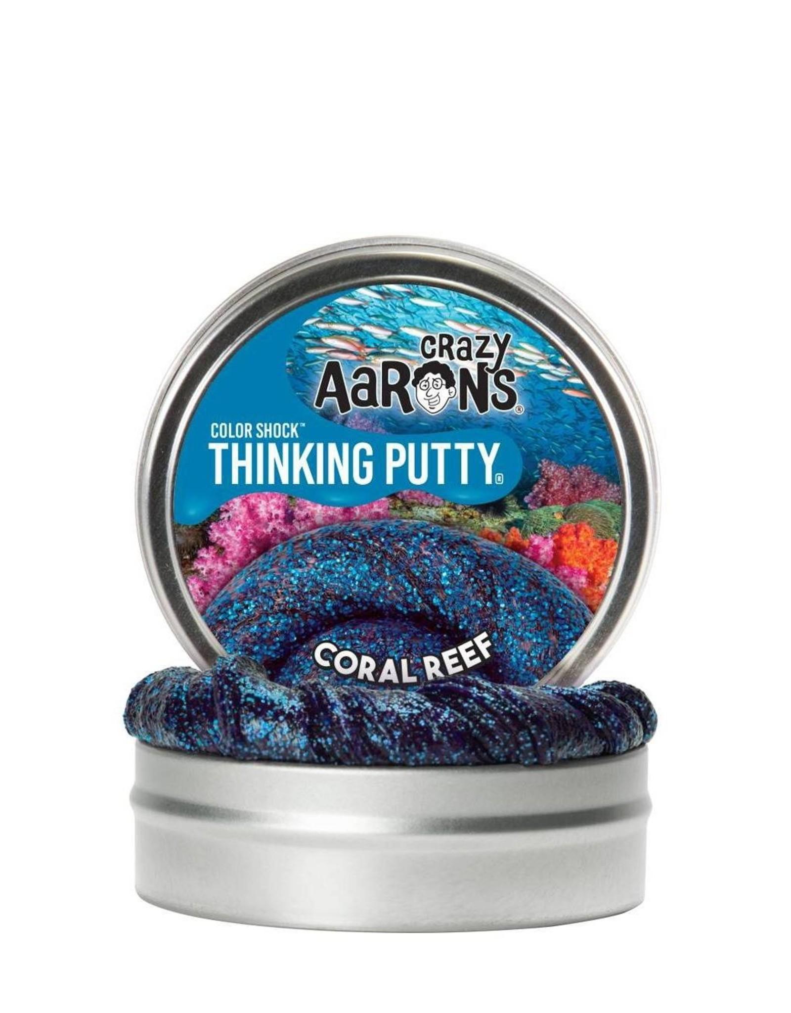 "Crazy Aaron's Puttyworld Crazy Aaron's Putty - Coral Reef 2"" Tin"