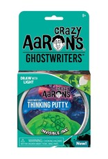 """Crazy Aaron's Puttyworld Crazy Aaron's Putty - Invisible Ink 4"""" Tin"""