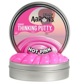 Crazy Aaron's Puttyworld Crazy Aaron's Putty -  2'' Mini Tin Primary Hot Pink
