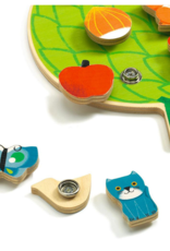 Djeco Clipaclip Snapping/Sequencing Wooden Skill Boards
