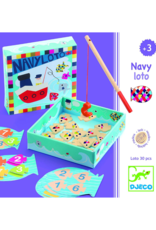 Djeco Magnetic Fishing Game - Navy Loto