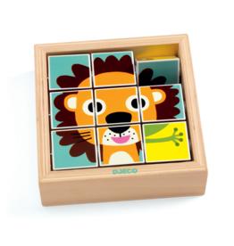 Djeco Wooden Puzzle - Tournanimo