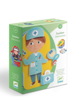 Djeco Jobissimo Magnetic Dress Up Activity Toy