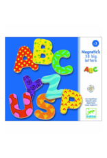 Djeco Wooden Magnetics - 38 Big Letters