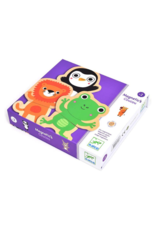 Djeco Coucou Animal Mix & Match Wooden Animal Magnets