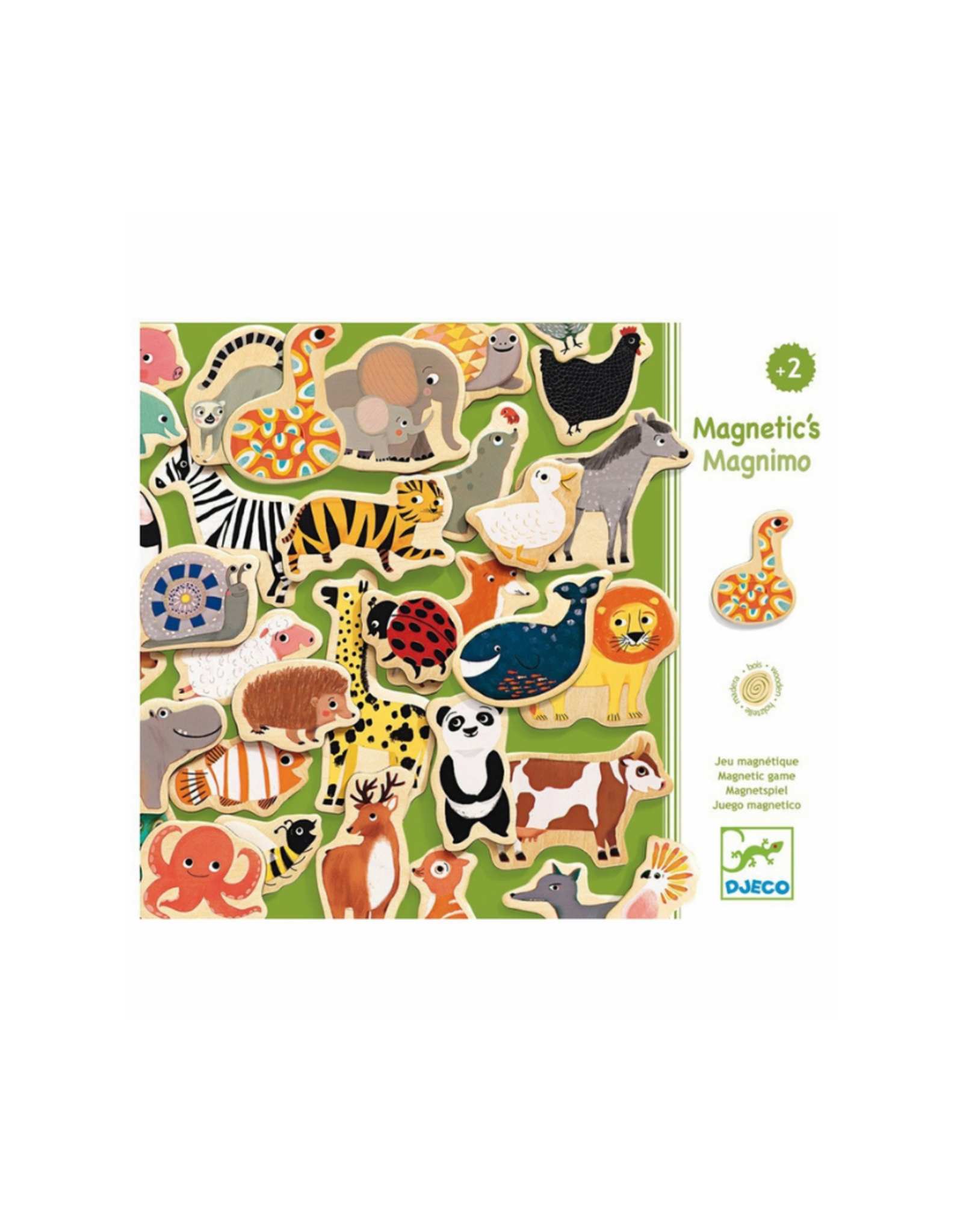 Djeco Wooden Magnetics - Magnimo
