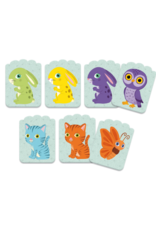Djeco Little Match Shape + Color Matching Toddler Card Game