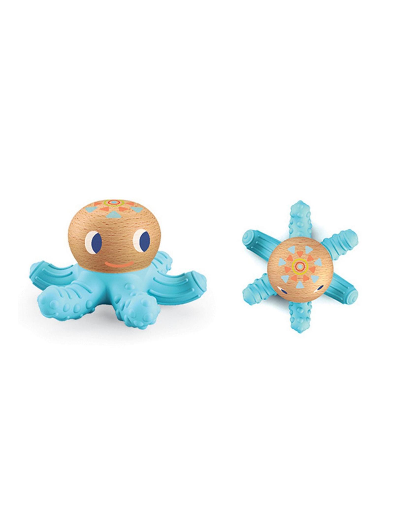 Djeco BabySquidi Infant Teether