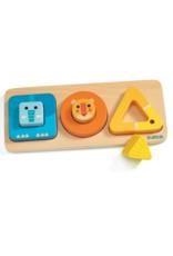 Djeco VoluBasic - Wooden Puzzle