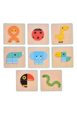 Djeco Basic GeoBasic - Magnetic Puzzle